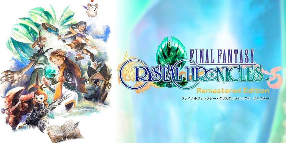Portada del juego Fantasy Crystal Chronicles Remastered