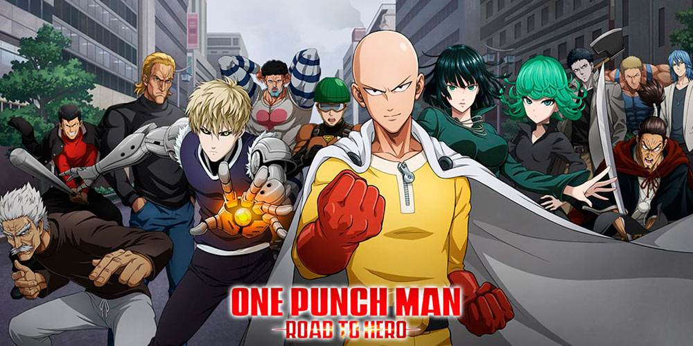 Portada del juego One Puch Man: Road to Hero