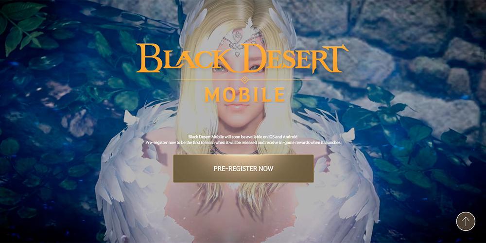 Portada del juego Black Desert Mobile