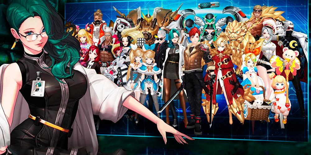 Portada del juego Gate Six: Cyber Persona