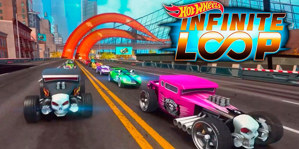 Portada del juego Hot Wheels: Infinite Loop