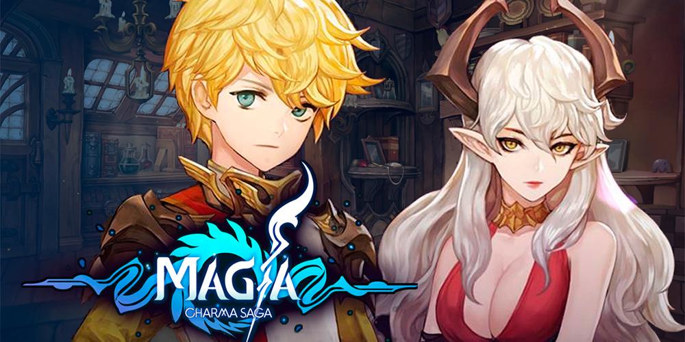 Portada del juego Magia: Charma Saga.