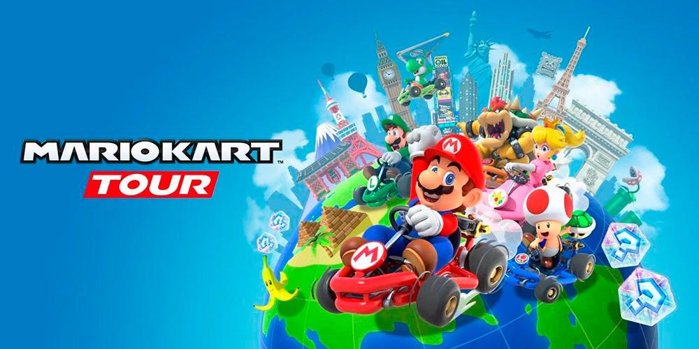 Portada del juego Mario Kart Tour