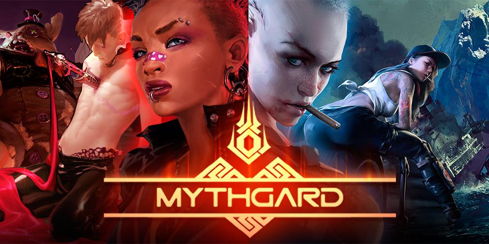 Portada del juego Mythgard