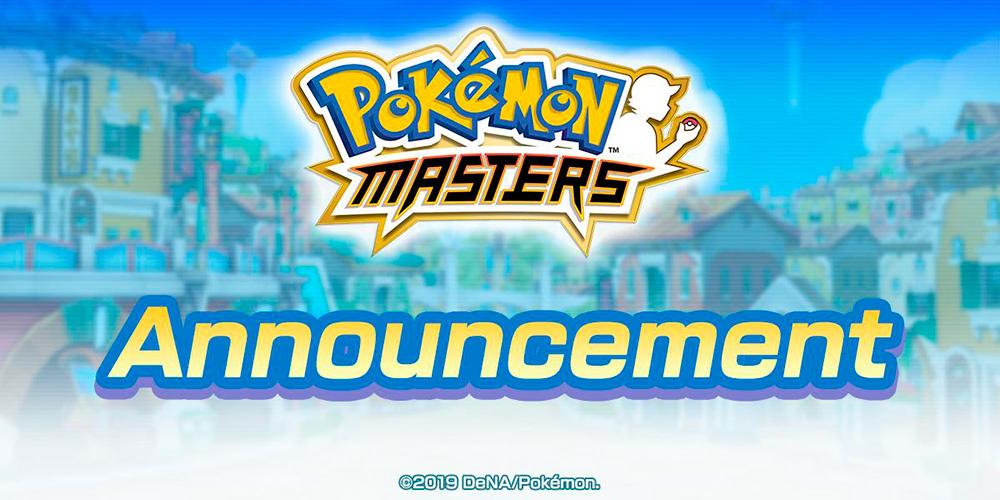 Portada fecha lanzamiento Pokémon Masters
