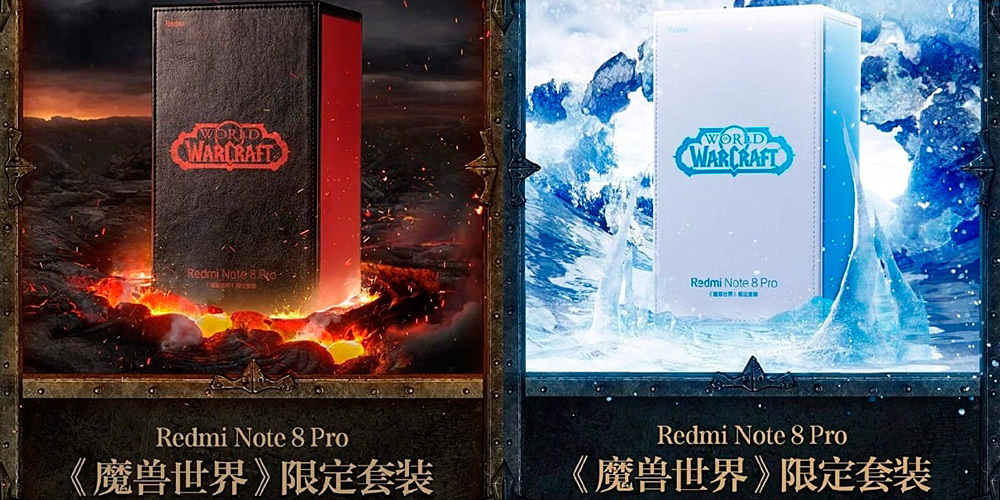 Imagen del móvil Redmi note 8 pro World of Warcraft