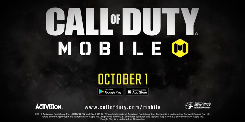 Portada del juego Call of Duty Mobile