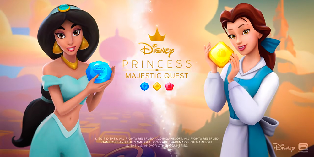 Portada del juego Disney Princess Majestic Quest