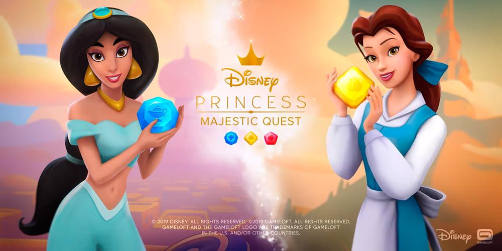 Portada del juego Disney Princess Majestic Quest