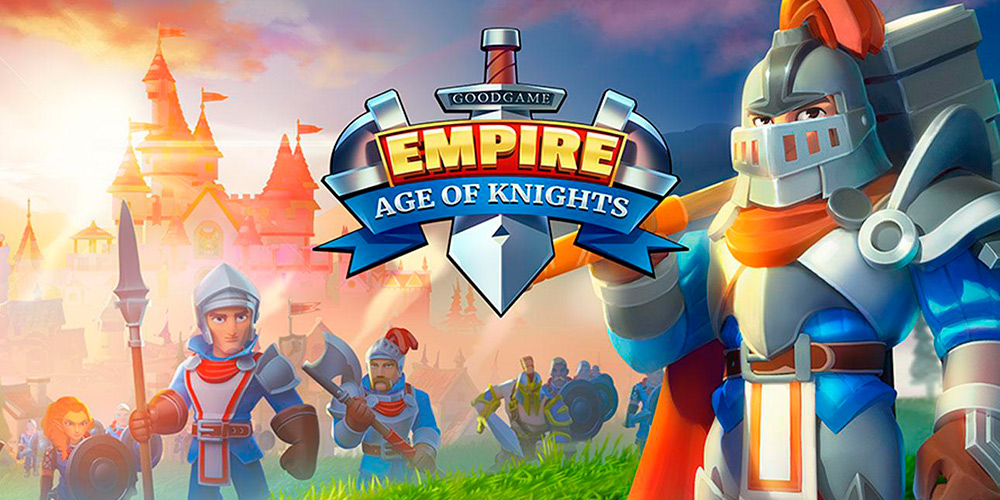 Portada del juego Empire: Age of Knights