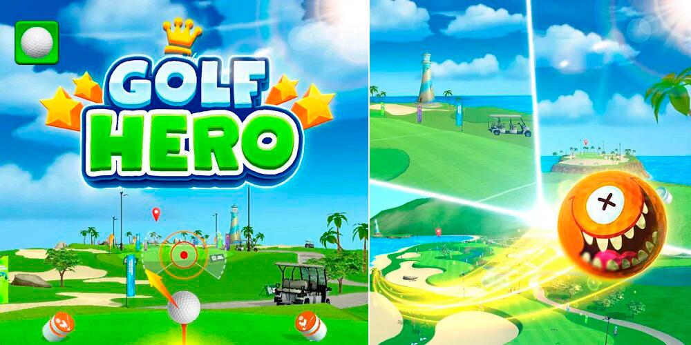 Portada del juego Golf Hero
