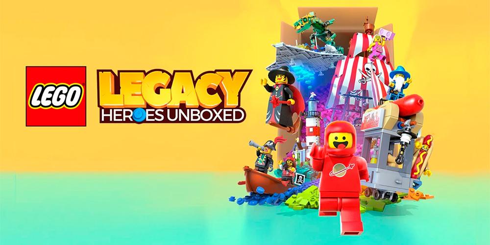 Portada del juego Lego Legacy: Heroes Unboxed