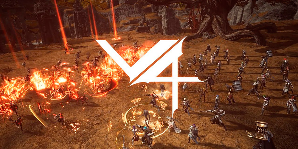 Portada del juego Project V4