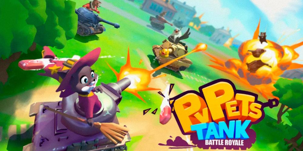 Portada del juego PvPets: Tank Battle Royale