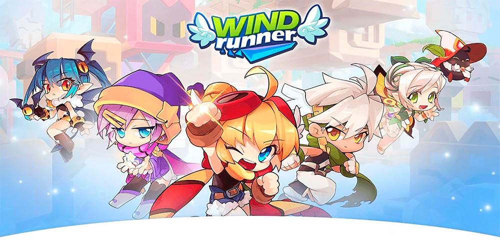 Portada del juego Windrunner: RE