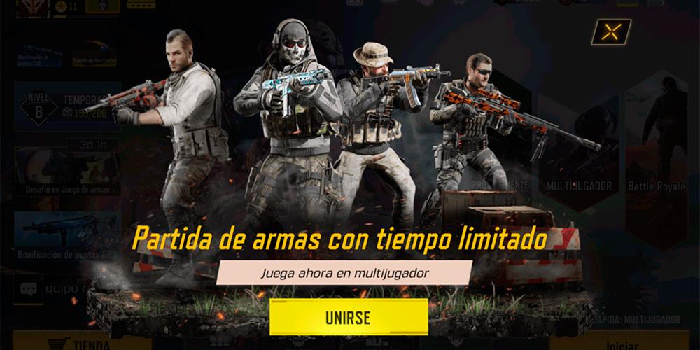 Imagen del juego Call of Duty Mobile