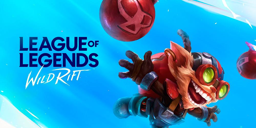 Portada del juego League of Legends Wild Rift