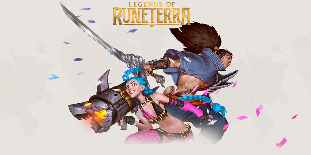 Portada del juego Legends of Runeterra