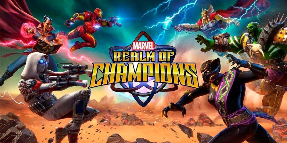 Portada del juego Marvel Realm of Champions