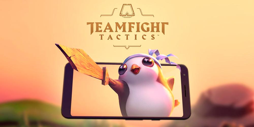 Portada del juego Teamfight Tactics