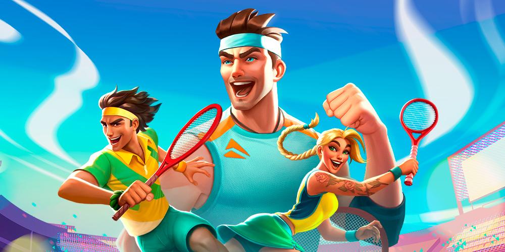 Portada del juego Tennis Clash