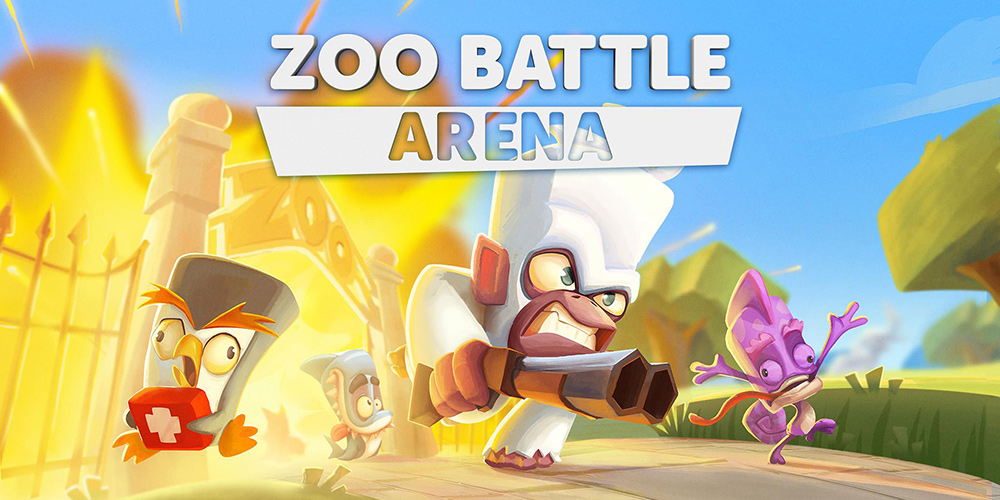 Portada del juego Zooba Battle Arena
