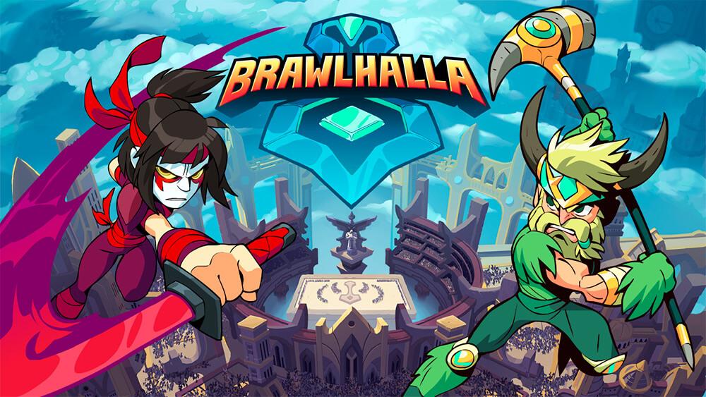 Portada del juego Brawlhalla