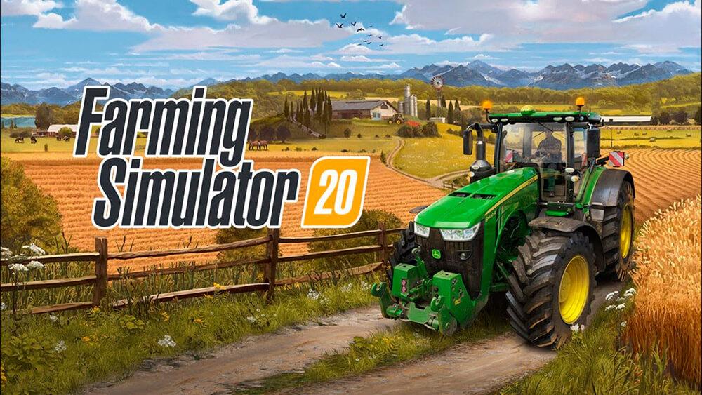 Portada del juego Farming Simulator 20