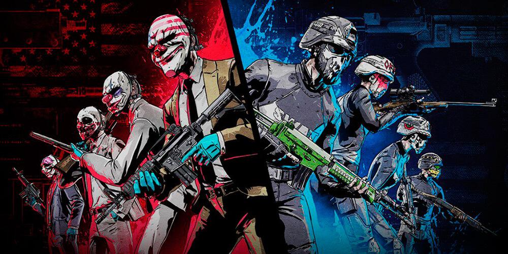Portada del juego Payday: Crime War