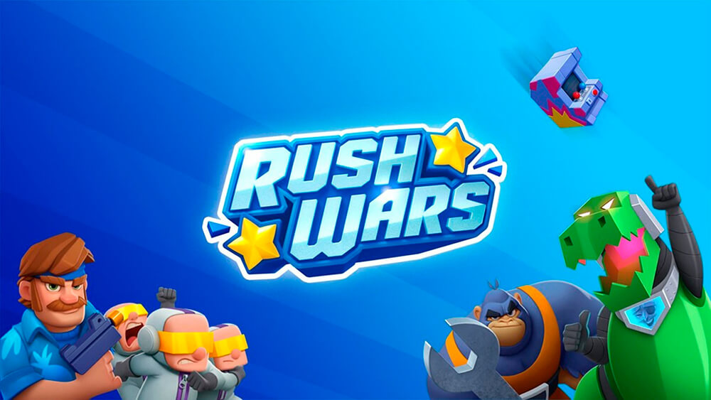 Portada del juego Rush Wars