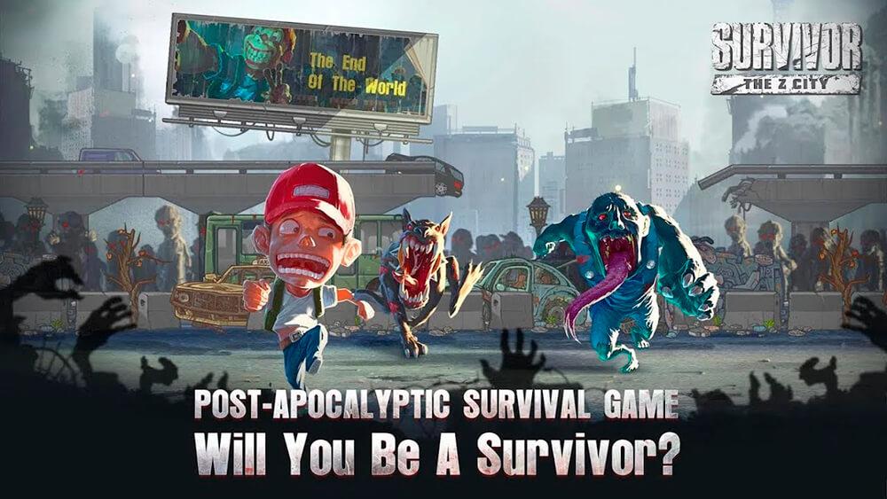 Portada del juego Survivor: The Z City