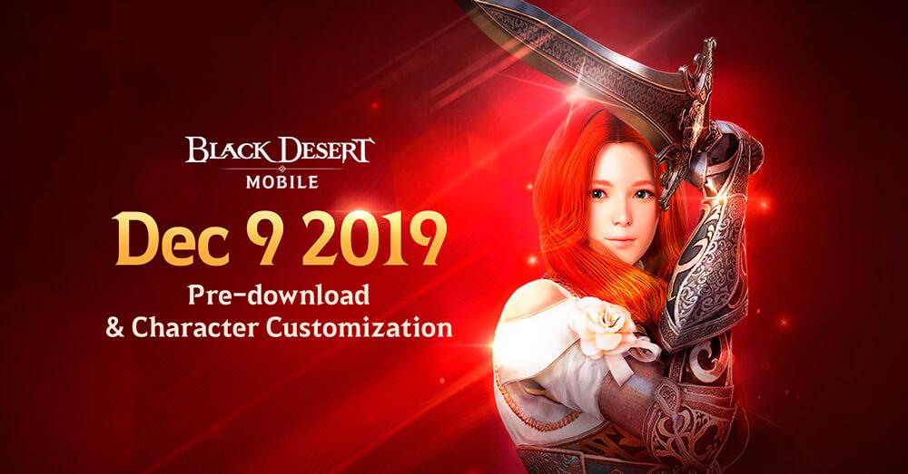 Pre-descarga del juego Black Desert Mobile