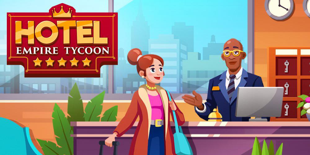 Portada del juego Hotel Empire Tycoon