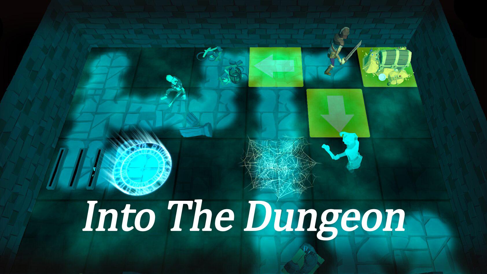 Portada del juego Into the Dungeon
