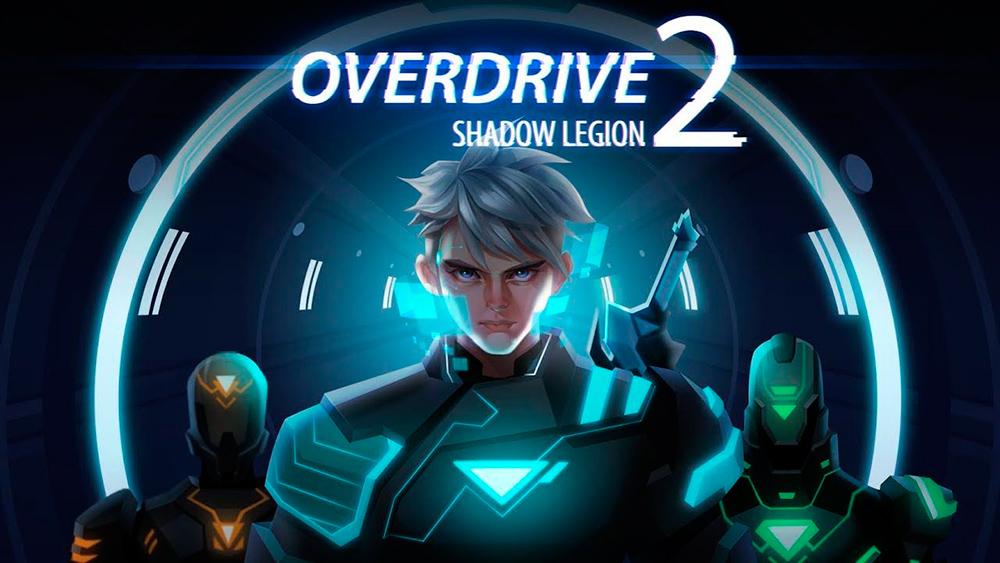 Portada del juego Overdrive 2: Shadow Legion