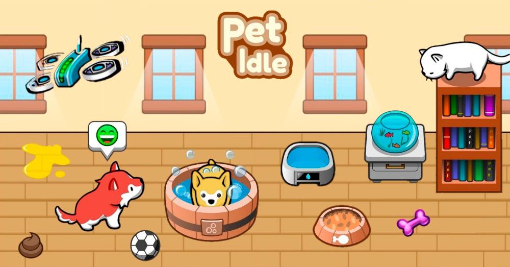 Portada del juego Pet Idle