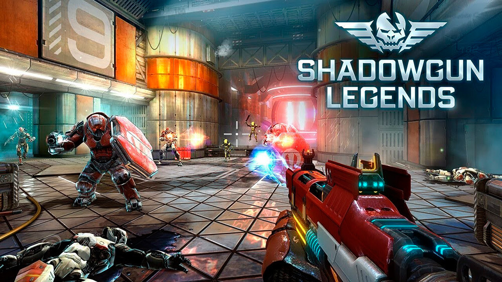 Portada del juego Shadowgun Legends