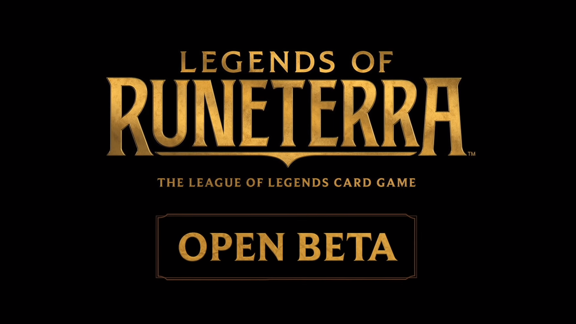 Legends of runeterra Open beta