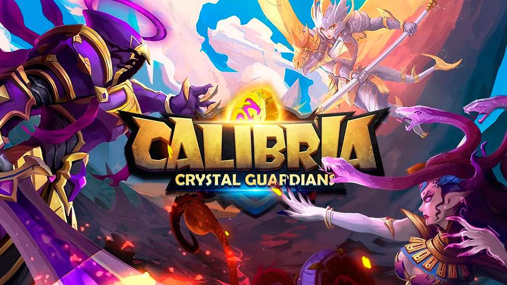 Portada del juego Calibria: Crystal Guardians