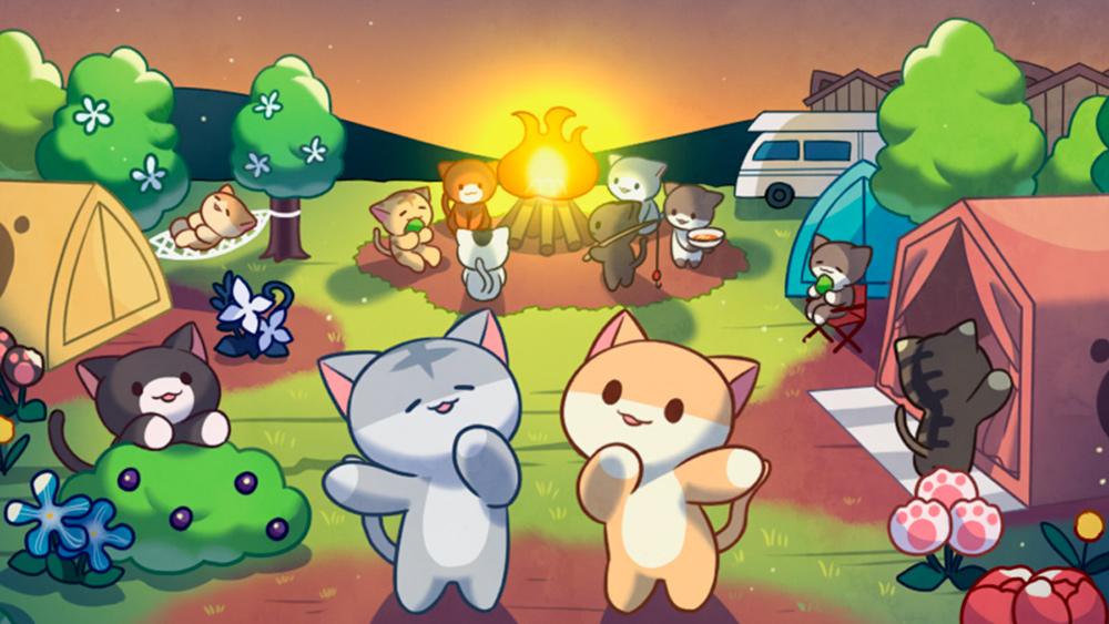 Portada del juego Cat Forest: Healing Camp