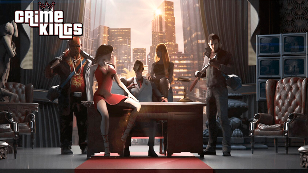 Portada del juego Crime Kings
