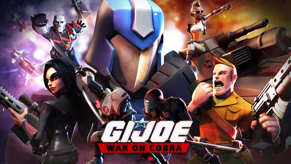 Portada del juego G.I.Joe: War on Cobra