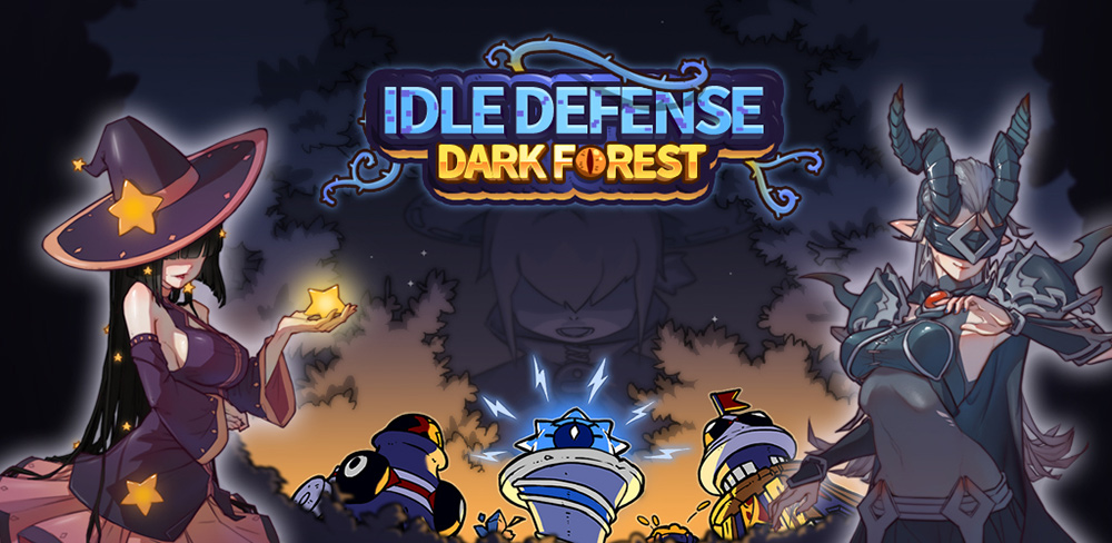Portada del juego Idle Defense Dark Forest
