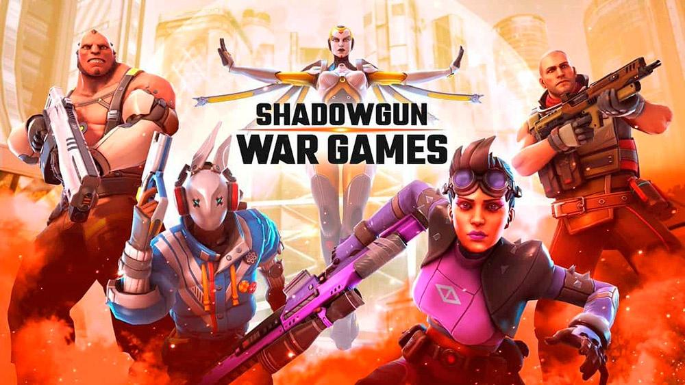 Portada del juego Shadowgun War Games