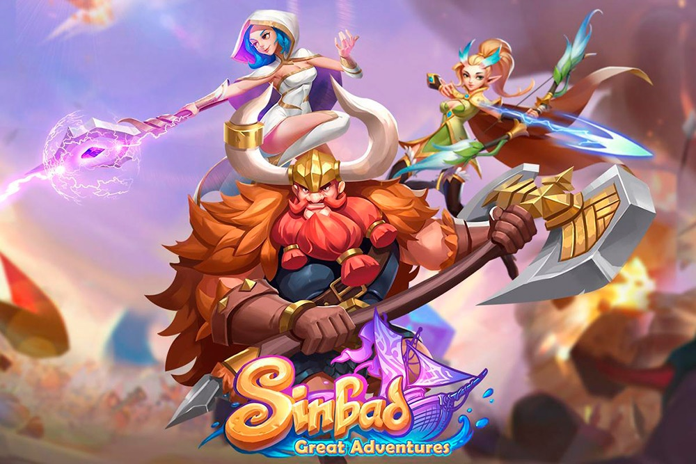 Portada del juego Sinbad: Great Adventures