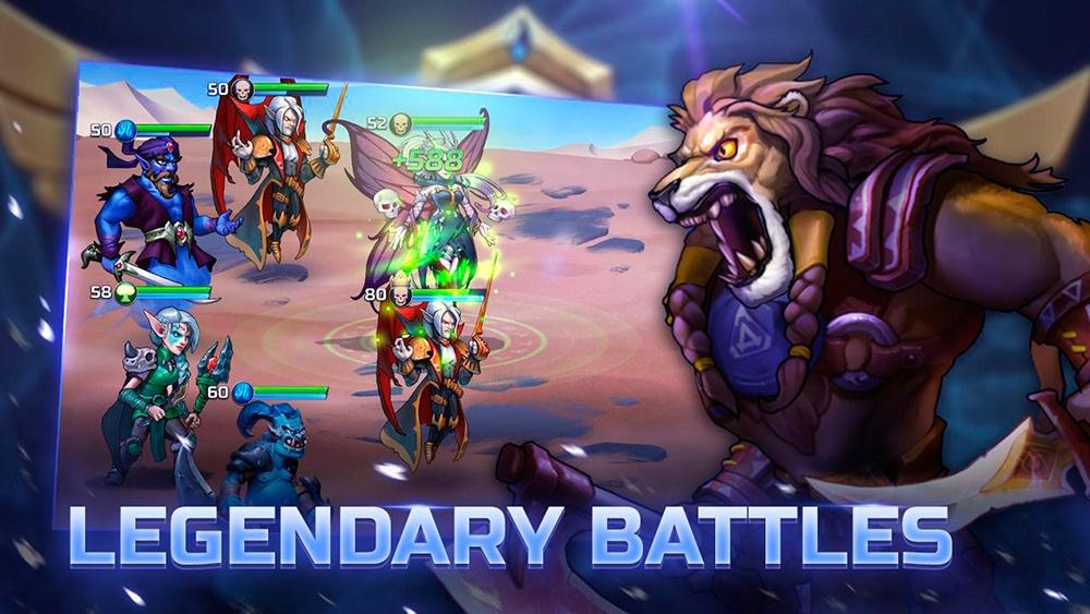 Portada del juego War of Champions