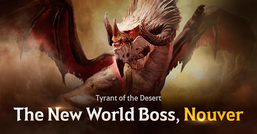 Portada de Nouver en Black Desert Mobile