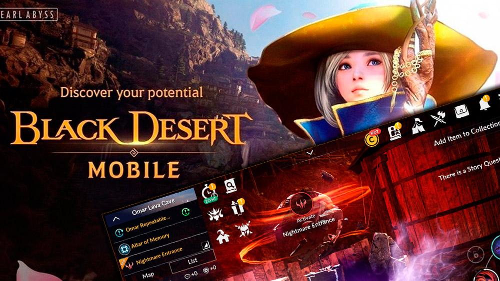 Portada actualización Black Desert Mobile