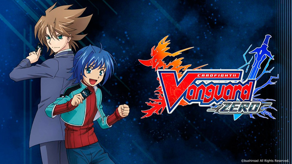 Portada del juego Cardfight!! Vanguard Zero