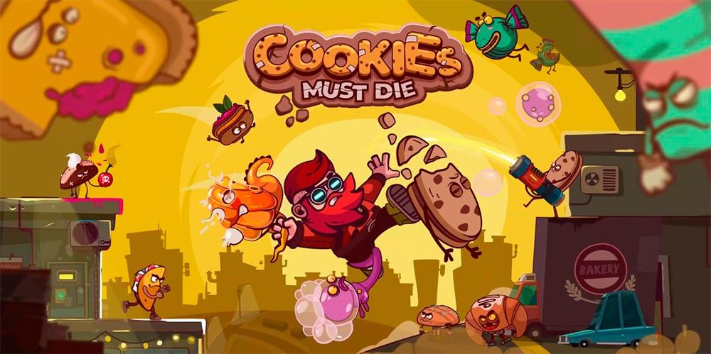 Portada del juego Cookies Must Die